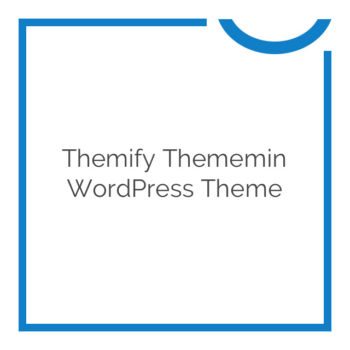 Thememin WordPress Theme 80% Off