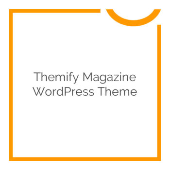 Themify Magazine WordPress Theme 80% off