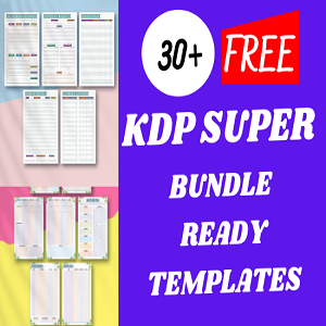 30+ KDP super bundle ready templates Free Download