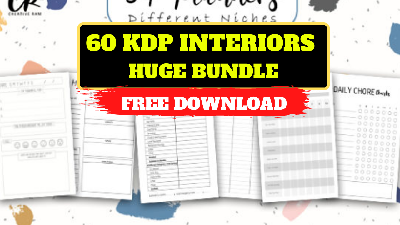 60 KDP Interiors Huge Bundle Free Download